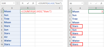Count Number Of Words In Excel How To Count The Number Of A Word Or Character In An Excel Column