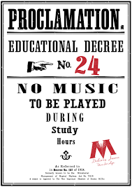 harry potter educational decrees free printables paper trail