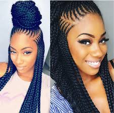 pin up hair styles for black women braided hair a braid pin up black braided hairstyles pinterest hair style