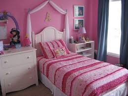 cute teenage bedroom ideas with enchanting white single bed