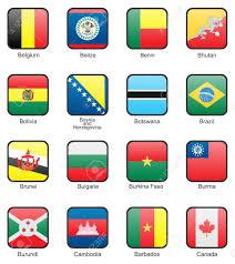 Benin Flag Flag Icon Set Part 2 Belgium Belize Benin Bhutan Bolivia