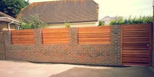 Garden Brick Wall Design Ideas Front Garden Brick Wall Designs Excellent Front Garden