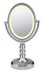 conair led lighted mirror engaging lights wall mounted makeup mirror lighted led mirrors