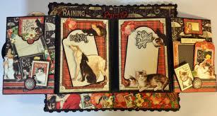 Dog Scrapbook Album Annes Papercreations November 2014