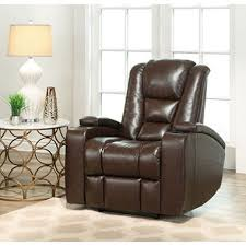Reclining Chair Theaters Mastro Leather Power Reclining Home Theater Chair Sam S Club