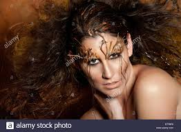 Beauty Garde by Autumn Avant Garde Hair And Make Up Stock Photo Royalty Free