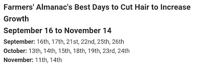 best days to cut hair growhairlonger hashtag on twitter