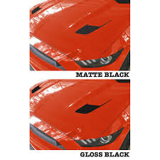 mustang hood vent accent decal kit gt 2015 2017 cj pony parts