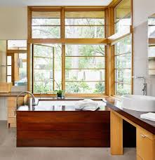 17 wooden bathroom designs decorating ideas design trends asian bathroom with wood tub