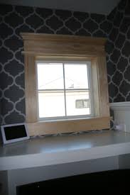 our new house fireplace window trim made 4 22 16
