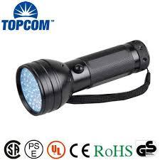 bed bug uv light topcom 51 uv ultraviolet flashlight 395 nm led handheld blacklight