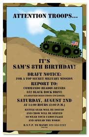 army birthday invitations kawaiitheo com