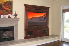 hand crafted built in fireplace entertainment center by diamond