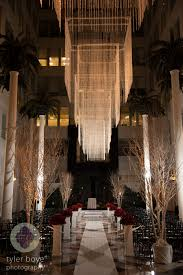 Wedding Chandeliers Wedding Wednesday Chic Black Red And White Beautiful Blooms