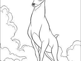 disney bambi coloring pages kids bambi coloring