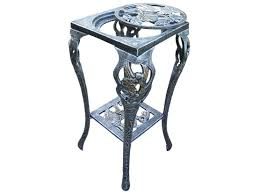 Oakland Living Mississippi Cast Aluminum Oakland Living Hummingbird Cast Iron Table Plant Stand In Antique