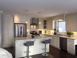 White Thermofoil Kitchen Cabinets by Antique White Thermofoil Kitchen Signature Kitchens And Baths
