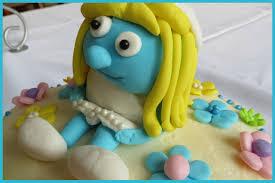 smurfette cake cupcakes2delite