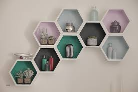 wall mounted l with cord wall mounted wire shelving units inspirational white matt hexagon