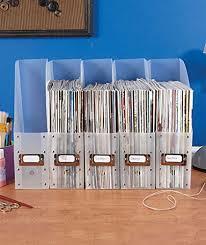 Plastic Office Desk Set Of 5 Clear Plastic Brights File Folder Paper