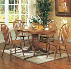 Round Dining Table And Chairs For 4 Round Dining Tables With Leaves U2013 Jefflee Co