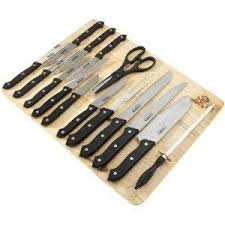 kitchen knive sets chef 16 piece kitchen knife set