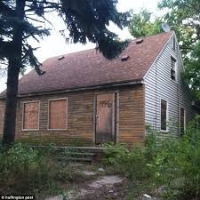 eminem s detroit childhood home is up for sale and currently at a