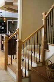 Painting Banister Spindles Decorations Black Painted Wrought Iron Ornate Stair Spindles