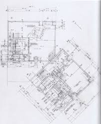 fisher house louis i kahn first floor plan drawings