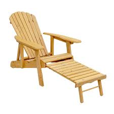 Folding Patio Chair by Shop Leisure Season Natural Cunninghamia Folding Patio Adirondack
