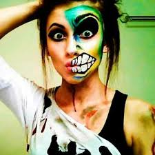 Cool Scary Halloween Costumes 13 Cool Scary Halloween Makeup Ideas Images