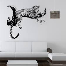 high quality tree vinyl wall sticker buy cheap large leopard tiger tree removable vinyl wall sticker home decaration animal decor art mural wallpaper