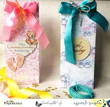 baby shower favor bags papericious