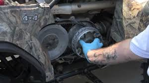 yamaha grizzly 450 machined sheave and grease less clutch install