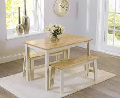 Oak  Cream Dining Tables  Chair Sets Oak Furniture Superstore - Cream kitchen table