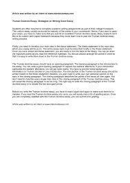 plan paper to write on marshall plan essay dwayne marshall dissertation ideal essays truman doctrine essay related image of truman doctrine essay