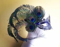 feather masks feather mask etsy