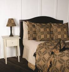 Nightstand Cover Smithfield Jacquard King Bed Cover Black Nana U0027s Farmhouse