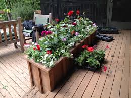 Backyard Planter Box Ideas Lawn U0026 Garden Garden Planter Boxes Ideas With Wooden Container