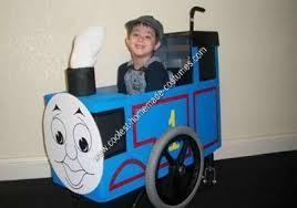 Thomas Tank Engine Halloween Costume Homemade Thomas Train Wheelchair Halloween Costume Halloween
