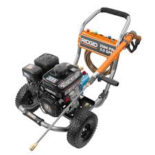 Water Pump Home Depot Ridgid 3 300 Psi 3 Gpm Subaru Engine Gas Pressure Washer With Cat