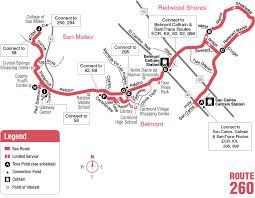 caltrain thanksgiving route 260