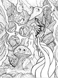 free detailed coloring pages for adults detailed coloring pages for adults trippy doodle by