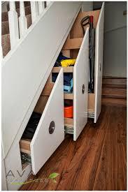 drawers under stairs clever understair storage space ideas u