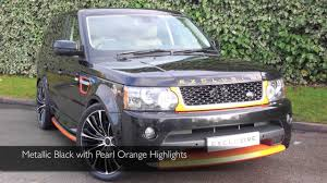 orange range rover exclusive cars gb land rover range rover sport autobiography