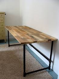 Salvaged Wood And Pipe Desk By Riotousdesign On Etsy 650 00 Usd