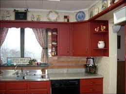 Red Kitchen White Cabinets Kitchen Cabinet Colors Orange Kitchen Cabinets Ivory Kitchen