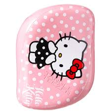 tangle teezer compact styler kitty hair brush pink free
