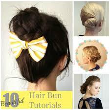 hair bun 10 beautiful hair bun tutorials artzycreations