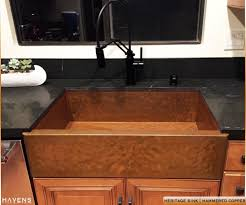 Brown Kitchen Sink Build A Custom Kitchen Sink Havens Metal